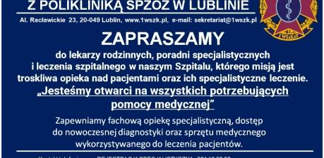 1 Wojskowy Szpital Kliniczny z Polikliniką SPZOZ w Lublinie